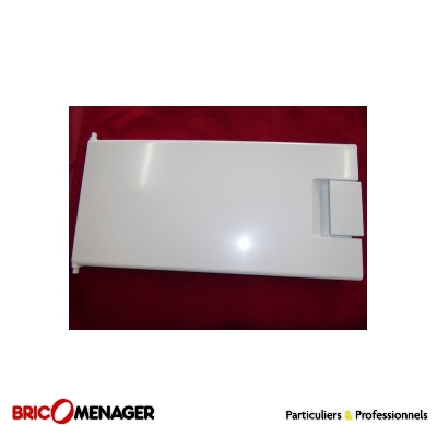 portillon freezer. porte évaporateur 482x230 mm 481244078254 pour frigo whirlpool laden ikéa